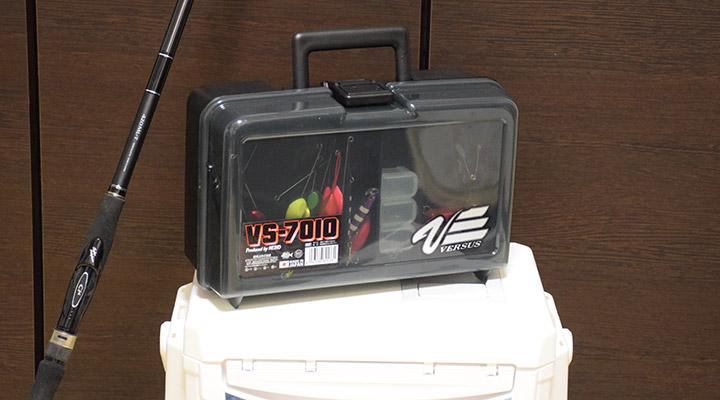 愛用のタックルボックス、MEIHO(メイホウ)VS-7010
